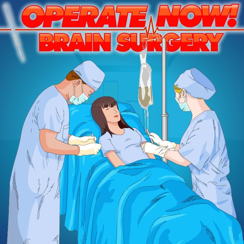 Operate Now Brain Surgery Girl Games Kiz10girls Com