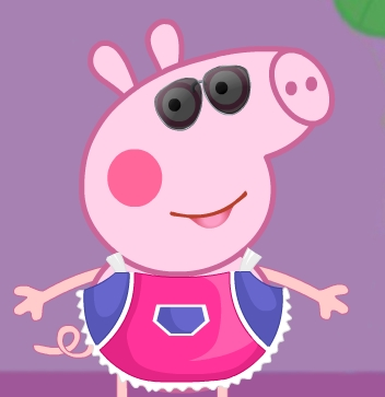 Peppa Pig Crazy Dress-Up girl games kiz10girls.com