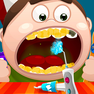 Doctor teeth girl games for Baby dora tooth decoration