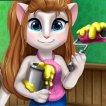 Girl game Kitty Room Prep