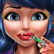 Girl game Ladybug Lips Injections
