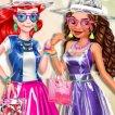 Girl game Moana Vs Ariel Plastic Fashion