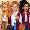 Girl game Princesses: School Time Fashionistas