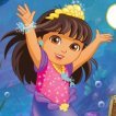 Girl game Dora and Friends Mermaid Treasure