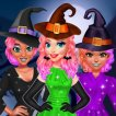 Girl game Princesses Witchy Dress Design