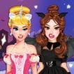 Girl game Spooky Princess Social Media Adventure