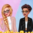 Girl game Fashion Battle Girly Vs Tomboy