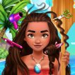 Girl game Polynesian Princess Real Haircuts