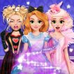 Girl game Blonde Princess Wonderland Spell Factory