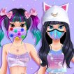 Girl game Kawaii Skin Routine Mask Makeover