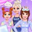 Girl game Princesses Slumber #Fun Party