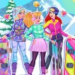 Girl game Princess Winter Sports