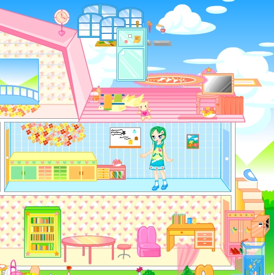 Baby Hazel Ice Princess Dressup: Barbie House Girl Games Kiz10girls.com
