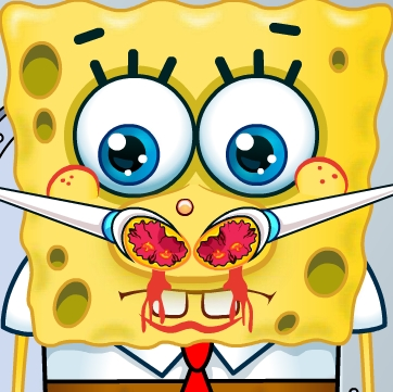 Spongebob Squarepants Nose Doctor Girl Games Kiz10girls Com