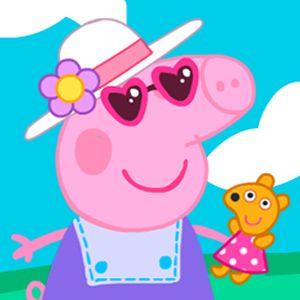 peppa pig dress up games