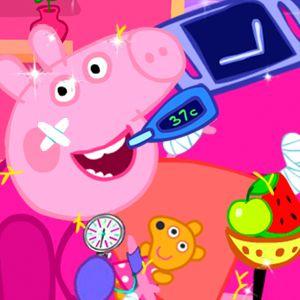 Peppa Pig Super Recovery Girl Games Kiz10girls Com