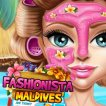 Girl game Fashionista Maldives Real Makeover