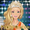 Girl game Prom Queen Dress up