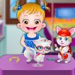Girl game Baby Hazel Pet Party
