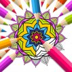 Girl game Mandala Coloring Book II